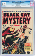 Golden Age (1938-1955):Horror, Black Cat Mystery #30 River City Pedigree (Harvey, 1951) CGC NM-9.2 Off-white pages....