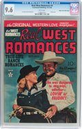 Golden Age (1938-1955):Western, Real West Romances #4 Mile High Pedigree (Prize, 1949) CGC NM+ 9.6White pages....