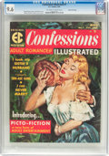 Magazines:Romance, Confessions Illustrated #1 Gaines File Pedigree 7/12 (EC, 1956) CGC NM+ 9.6 Off-white to white pages....
