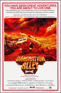"Damnation Alley & Other Lot (20th Century Fox, 1977). One Sheets (2) (27"" X 41""). Science Fiction..."