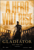 """Movie Posters:Action, Gladiator (Universal, 2000). One Sheet (27"""" X 40"""") DS Advance.Action.. ..."""