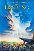 "Movie Posters:Animation, The Lion King & Other Lot (Buena Vista, 1994). One Sheets (2)(27"" X 40"") SS & DS Advance. Animation.. ... (Total: 2 Items)"
