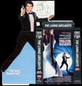 Movie Posters:James Bond, The Living Daylights & Others Lot (United Artists, 1987). Video Standee (33 ' X 58 ') Countertop Video Standee (11 ' X 19.5 ... (Total: 8 Items)