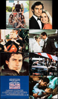 "Movie Posters:James Bond, The Living Daylights (United Artists, 1987). British Deluxe JumboLobby Card Set of 14 (16"" X 20"") & Mobile (17"" X 17""). Jam...(Total: 15 Items)"