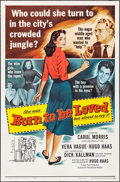 "Movie Posters:Romance, Born to Be Loved & Other Lot (Universal International, 1959). One Sheets (2) (27"" X 41""). Romance.. ... (Total: 2 Items)"