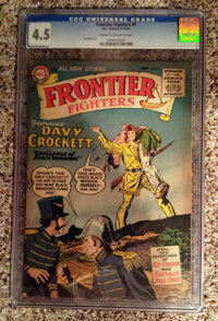Frontier Fighters #1 (DC, 1955) CGC VG+ 4.5 Cream to off-white pages