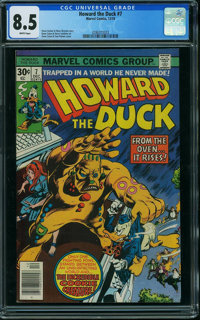 Howard the Duck #7 (Marvel, 1976) CGC VF+ 8.5 White pages