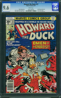 Howard the Duck #13 (Marvel, 1977) CGC NM+ 9.6 White pages