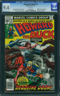 Bronze Age (1970-1979):Cartoon Character, Howard the Duck #16 (Marvel, 1977) CGC NM 9.4 White pages.