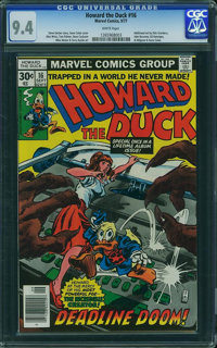 Howard the Duck #16 (Marvel, 1977) CGC NM 9.4 White pages