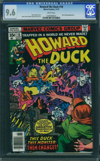Howard the Duck #18 (Marvel, 1977) CGC NM+ 9.6 White pages