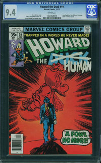 Howard the Duck #19 (Marvel, 1977) CGC NM 9.4 White pages