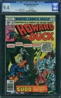 Bronze Age (1970-1979):Cartoon Character, Howard the Duck #20 (Marvel, 1978) CGC NM 9.4 White pages.