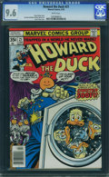 Bronze Age (1970-1979):Cartoon Character, Howard the Duck #21 (Marvel, 1978) CGC NM+ 9.6 White pages.