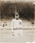 Baseball Collectibles:Photos, 1917 Ty Cobb Original Photograph by George Grantham Bain - CobbGives The Middle Finger, PSA/DNA Type 1. ...
