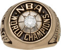 Basketball Collectibles:Others, 1979 Seattle Supersonics NBA Championship Ring Presented to SmallForward John Johnson....