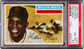 Baseball Cards:Singles (1950-1959), 1956 Topps Willie Mays (Gray Back) #130 PSA NM-MT+ 8.5....