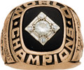 Baseball Collectibles:Others, 1967 St. Louis Cardinals World Championship Ring Presented toOutfielder Bobby Tolan. ...