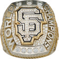 Baseball Collectibles:Others, 2014 San Francisco Giants World Series Championship Ring....