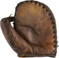 Baseball Collectibles:Others, 1941-42 Hank Greenberg Game Used First Baseman's Glove....