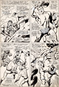 Original Comic Art:Panel Pages, John Buscema and Frank Giacoia Sub-Mariner #1 Page 18Original Art (Marvel, 1968)....