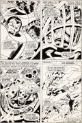 Original Comic Art:Panel Pages, John Buscema and Frank Giacoia Sub-Mariner #3 Page 3Original Art (Marvel, 1968)....