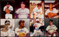 Autographs:Photos, Baseball HoF Signed 8x10's Collection of Fourteen (14). ...