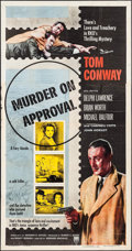 """Movie Posters:Mystery, Murder on Approval & Other Lot (RKO, 1956). Three Sheets (2)(41"""" X 78.5""""). Mystery.. ... (Total: 2 Items)"""