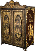Asian:Chinese, A Chinese Export Lacquered Wood Chest, 20th century. 28-7/8 h x18-3/8 w x 12 d inches (73.3 x 46.7 x 30.5 cm). ...