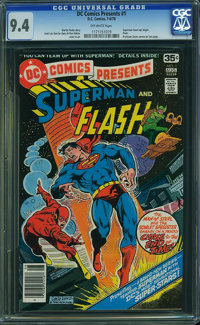 DC Comics Presents #1 (DC, 1978) CGC NM 9.4 Off-white pages