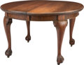 Furniture , A Queen Anne-Style Mahogany Dining Table, late 19th century. 29-1/2 x 47-1/4 inches (74.9 x 120.0 cm). ...