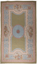 Rugs & Textiles:Carpets, A Romanian Reproduction Woven Wool Carpet after an American FederalPeriod Design, late 20th century. 152-1/2 inches long x ...