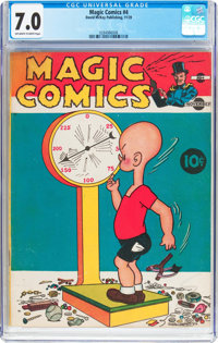 Magic Comics #4 (David McKay Publications, 1939) CGC FN/VF 7.0 Off-white to white pages