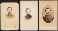 Photography:CDVs, [Civil War]. Three Union Soldier Cartes de Visite ... (Total: 3 Items)