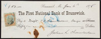 General Joshua Chamberlain Signed Check