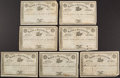 Miscellaneous, Group of Seven Bank of Kentucky Stock Certificates. ... (Total: 7Items)