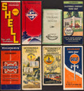 Books:Maps & Atlases, [Colorado]. Group of Eight Colorado Road Maps.... (Total: 8 Items)