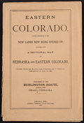 Books:Americana & American History, [Colorado]. Eastern Colorado. A Brief Description of the NewLands Now Being Opened Up... ...