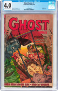 Golden Age (1938-1955):Horror, Ghost #7 (Fiction House, 1953) CGC VG 4.0 Cream to off-whitepages....