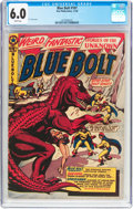 Golden Age (1938-1955):Science Fiction, Blue Bolt #107 (Star Publications, 1950) CGC FN 6.0 White pages....