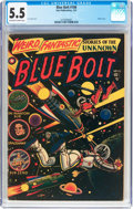 Golden Age (1938-1955):Science Fiction, Blue Bolt #108 (Star Publications, 1951) CGC FN- 5.5 Off-white towhite pages....