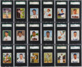 Baseball Cards:Sets, 1950 Bowman Baseball SGC Graded Complete Set (252) - #2 on the SGCSet Registry. ...