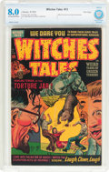 Golden Age (1938-1955):Horror, Witches Tales #13 File Copy (Harvey, 1952) CBCS VF 8.0 Cream tooff-white pages....