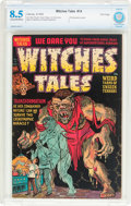 Golden Age (1938-1955):Horror, Witches Tales #14 File Copy (Harvey, 1952) CBCS VF+ 8.5 Cream tooff-white pages....