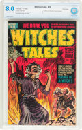 Golden Age (1938-1955):Horror, Witches Tales #16 (Harvey, 1952) CBCS VF 8.0 Cream to off-whitepages....