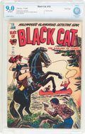 Golden Age (1938-1955):Superhero, Black Cat Comics #15 File Copy (Harvey, 1949) CBCS VF/NM 9.0 Off-white pages....