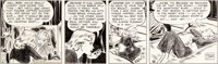 Milton Caniff Terry and the Pirates Daily Comic Strip Original Art dated 4-7-41 (News Syndicate Co, 1941)