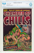 Golden Age (1938-1955):Horror, Chamber of Chills #12 File Copy (Harvey, 1952) CBCS VF/NM 9.0Off-white pages....