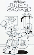 Original Comic Art:Covers, William Van Horn Uncle Scrooge #7 / 411 Cover Original Art(IDW, 2015)....
