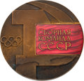Olympic Collectibles:Autographs, 1972 Olga Korbut USSR Team Member Medal from The Olga KorbutCollection. ...